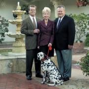 The Thornton Family l-r:  Steve, Sally and John