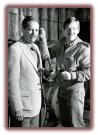 Father son duo of original Mount Palomar Winery, John Poole and Peter Poole