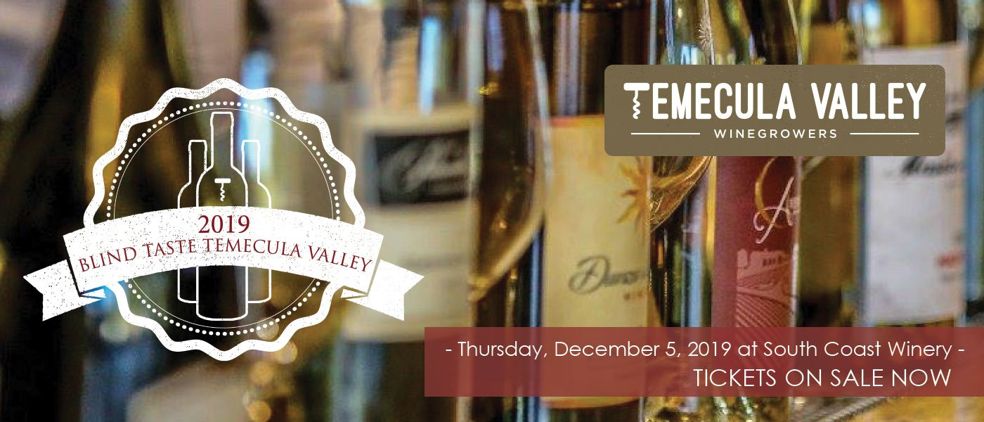 Blind Taste Temecula Valley 2019