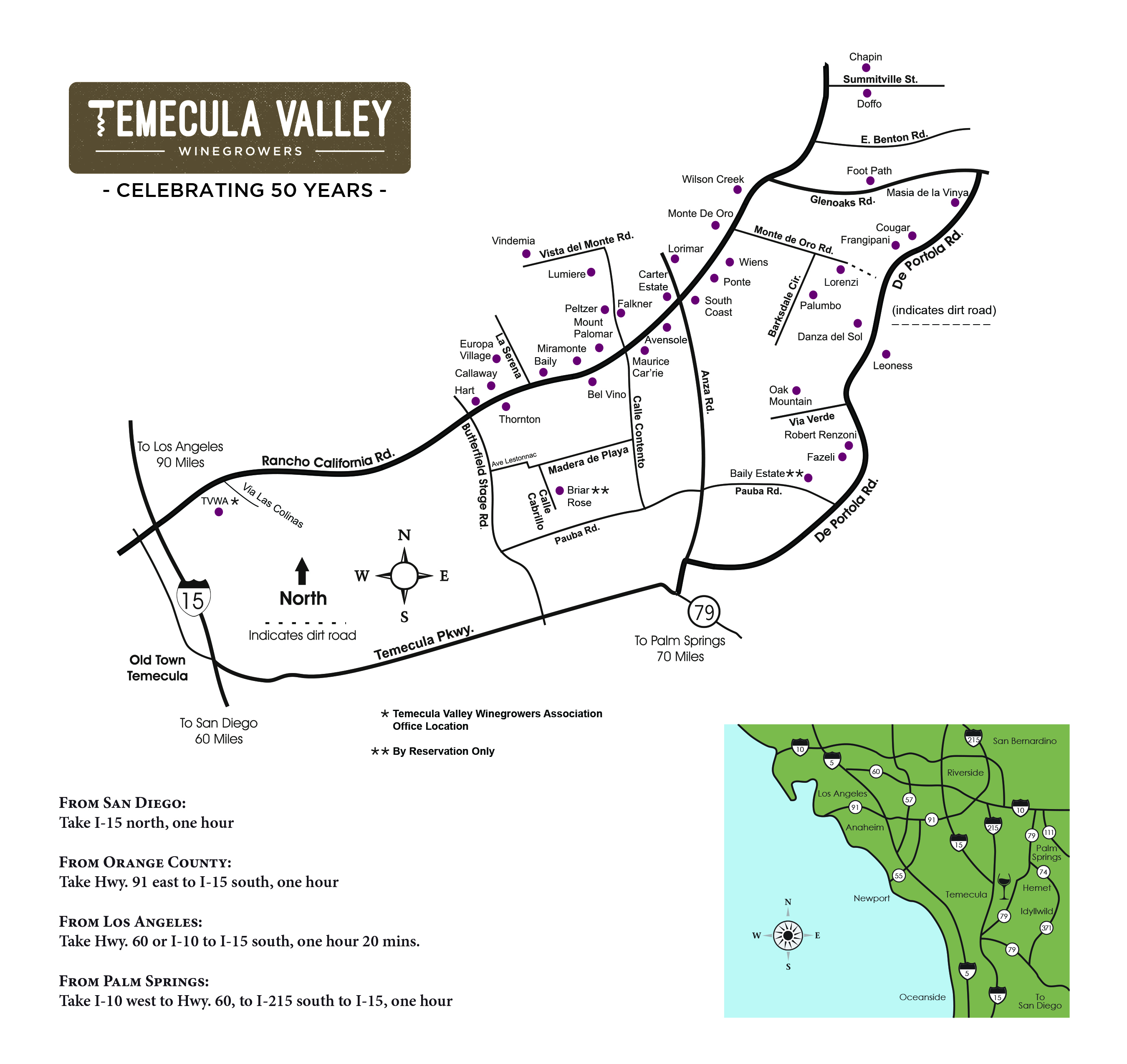 Temecula Wineries Map Temecula Valley Winegrowers Association   Winery Map Temecula Wineries Map